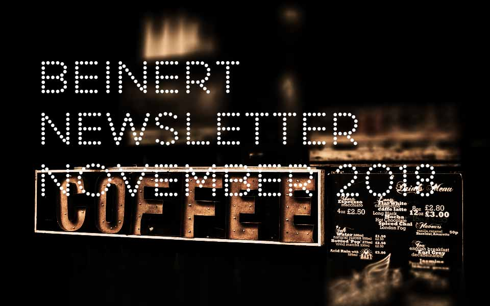Wolfgang Beinert | Newsletter : November 2018