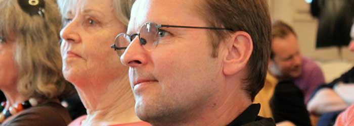 Linde Kapitzki und Florian Adler (Adler & Schmidt, Berlin), Vorstand des Forums für Entwerfen e.V.