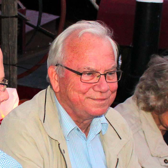 Robert Anton beim Sommerfestvon Wolfgang Beinert und den Berliner Gestalten am 23. August 2013 im Historischen Hafen von Berlin.
