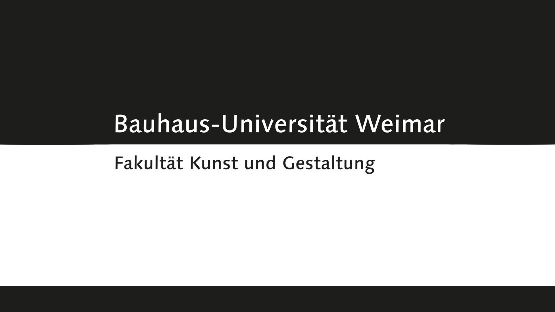 Architektur und Urbanistik, Bauingenieurwesen, Kunst und Gestaltung und Medien – mit ihren Fakultäten und Arbeitsgebieten verfügt die Bauhaus-Universität Weimar über ein einzigartiges Profil. Das Spektrum der Universität umfasst gegenwärtig ca. 40 Studiengänge bzw. -programme und reicht von der Freien Kunst über Design, Visuelle Kommunikation, Mediengestaltung, -wissenschaft und -informatik bis zu Architektur, Bauingenieurwesen, Baustoffkunde und Umwelt sowie Management. Der Begriff »Bauhaus« im Namen unserer Universität steht für Experimentierfreudigkeit, Offenheit, Kreativität und Internationalität.