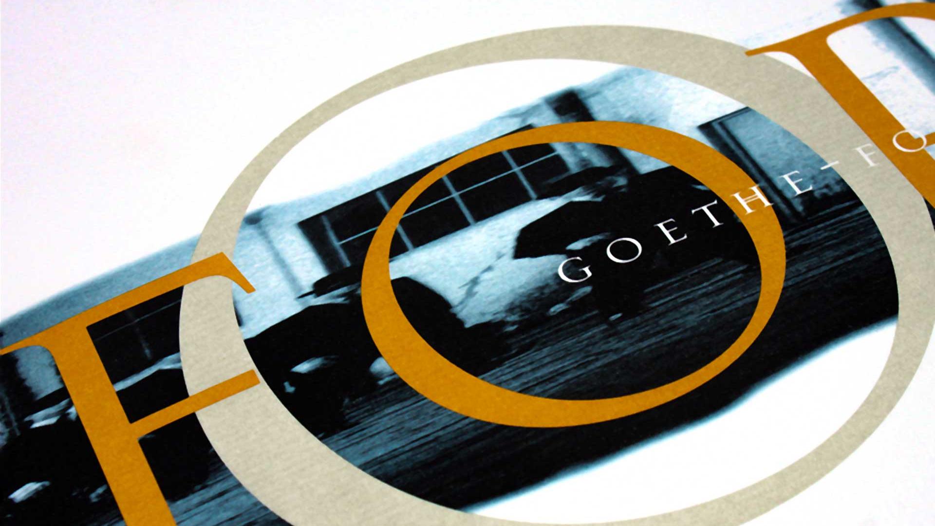 Das Goethe-Institut stellt vom 10. September bis 31. Oktober 2001 in der Zentralverwaltung in München Arbeiten des Grafikers Wolfgang Beinert aus, die er für das weltweit tätige Kulturinstitut der Bundesrepublik Deutschland gestaltet hat.