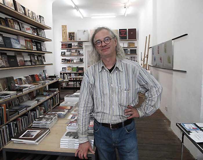 Hannes Wanderer fotografiert Ende Juli 2010 von Cathy Horyn für ihren Blog in der New York Times.