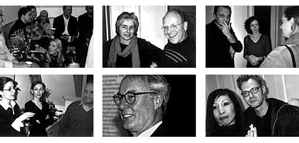 Irmgard Voigt (Grafikdesignerin, München), Frank Wagner (hw.design, München), Annette Haefelinger (hw.design, München), Gudrun Bürgin (Atelier Beinert, München), Gabriele Mooser (Atelier Beinert, München), Jeong Hee Hyung (Atelier Beinert, München) und Oliver Klyne (Designmagazin novum).