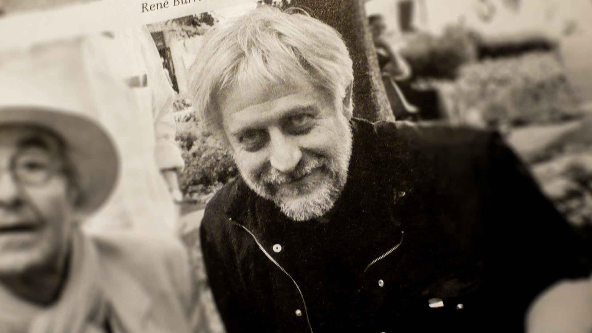 Horst Moser, Editorial Designer. Ateliergespräch am 29. April 2010 im Atelier von Wolfgang Beinert in Berlin.