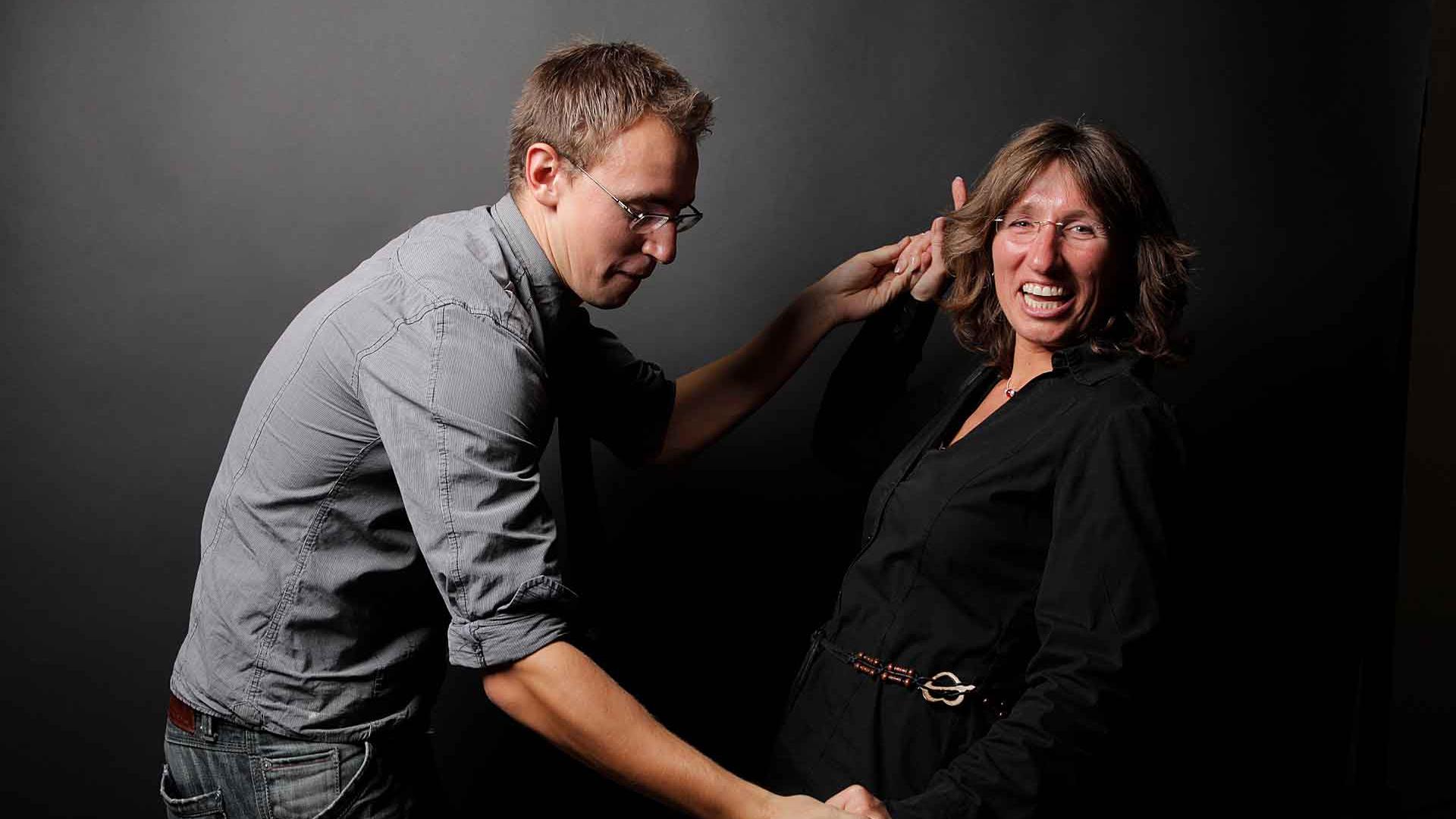 Markus Hellwig und Susanne Babst.