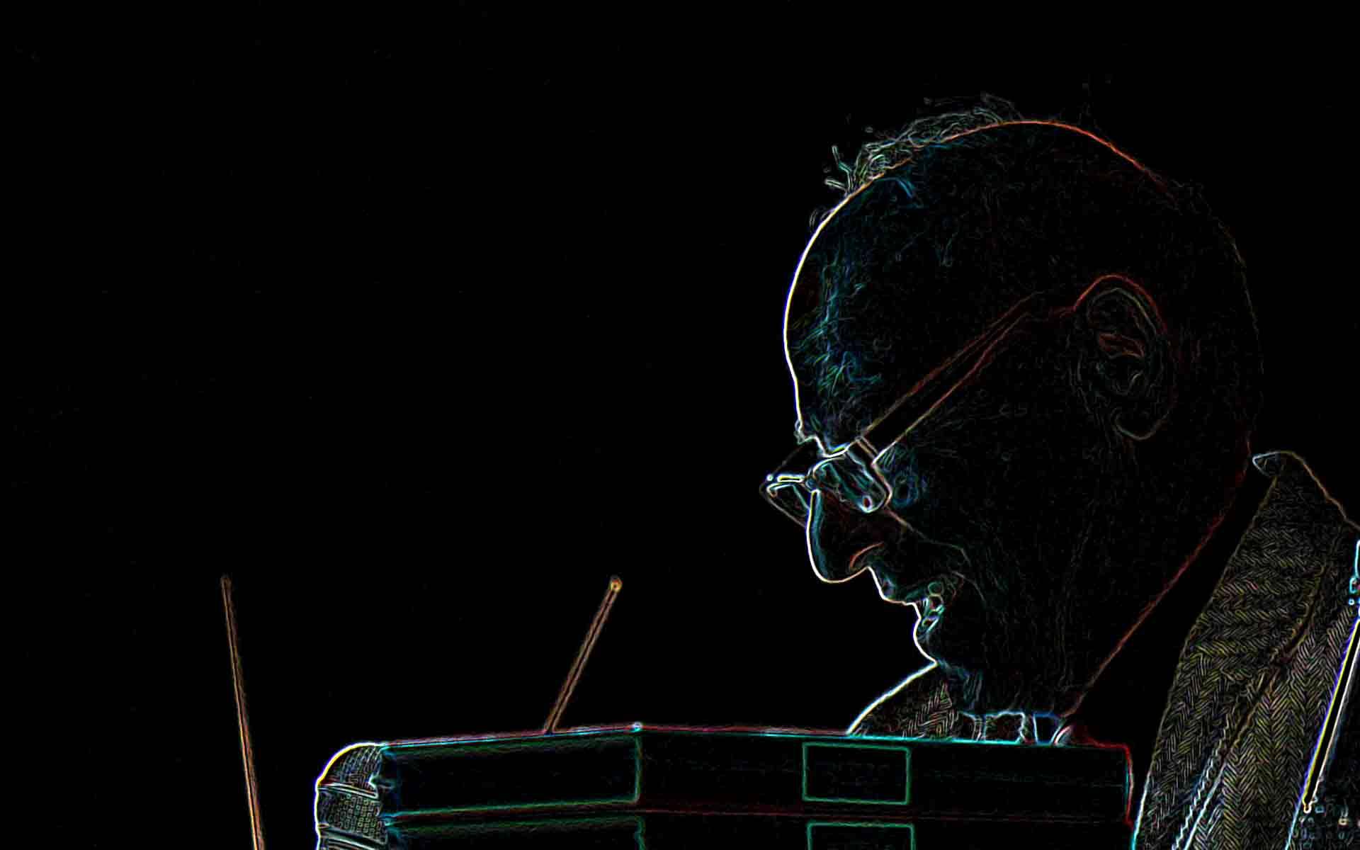 Foto: Ateliergespräch mit Olaf Leu amDonnerstag, 25. November 2010 im Atelier von Wolfgang Beinert in Berlin.