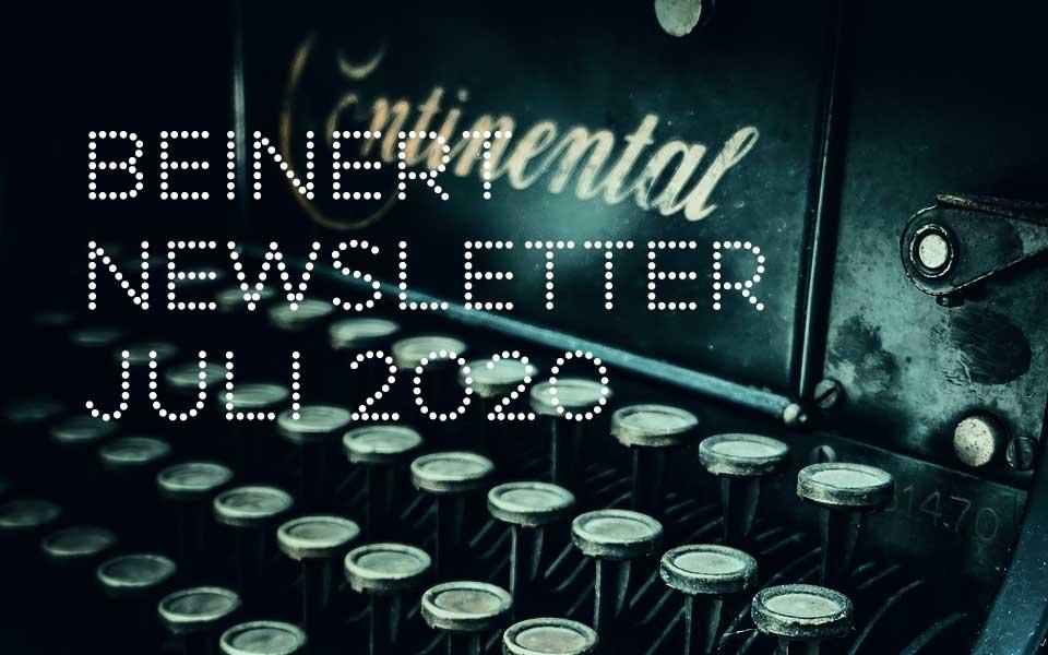 Wolfgang Beinert | Newsletter : Mai 2020