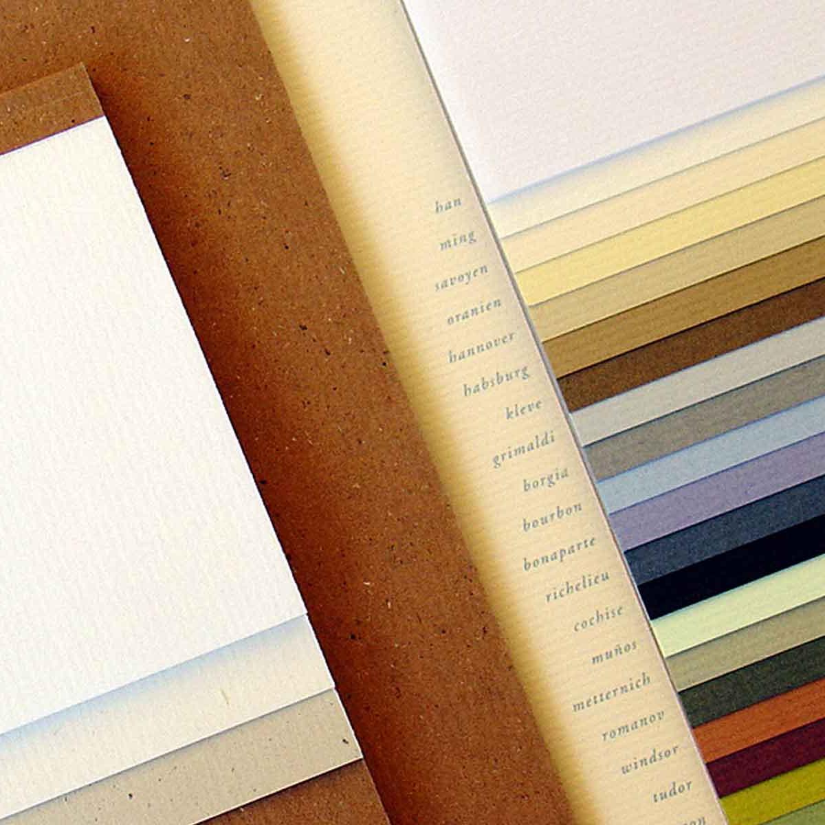 Gmund Papier, Feinstpapiere für das Corporate Design »Jennerwein«.