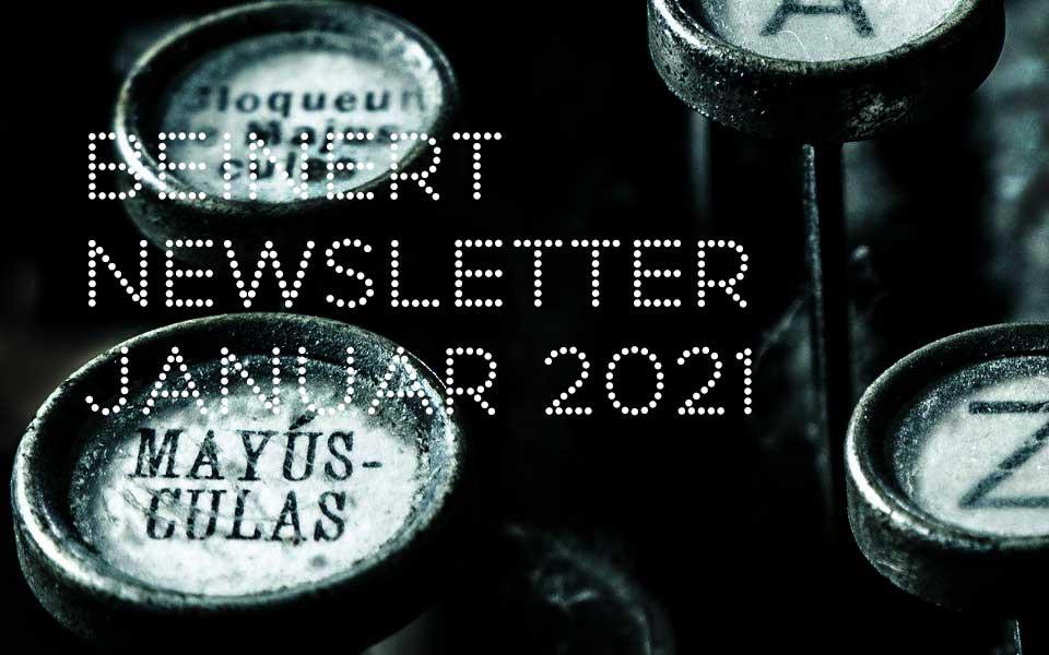 Wolfgang Beinert | Newsletter Januar 2021