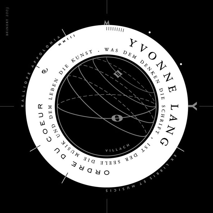 Lang, Yvonne, Exlibris.