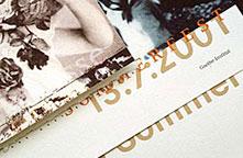 Goethe-Institut, Einladungskarte zum Sommerfest, 2001.