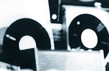 Goethe-Institut, Fotografie für einen Konzert-Flyer, um 2000.