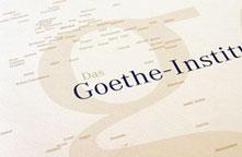 Goethe-Institut, Selbstdarstellung, 1994.