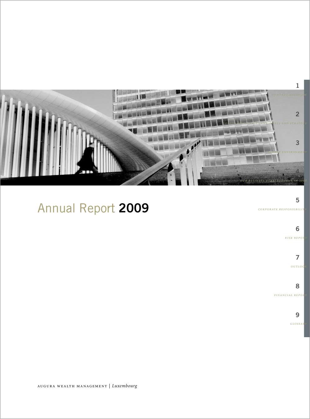 J. C. Flowers & Company, Titelseite, NPG Geschäftsbericht, 2009.