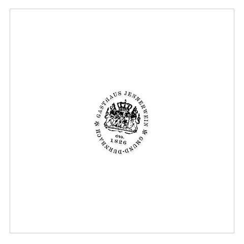 Gmund Papier, Logo Gasthaus »Jennerwein«.