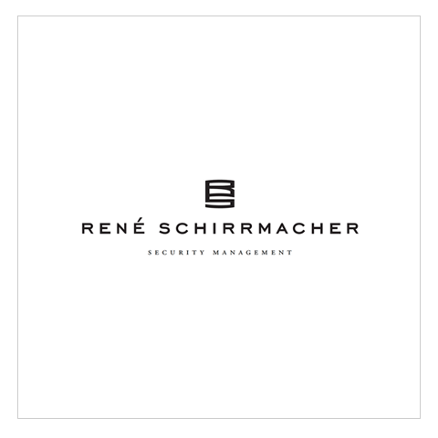Rene Schirrmacher, Wortbildmarke.