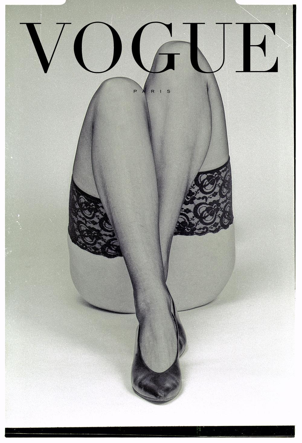 Condé Nast, Fotografie für die Vogue, Paris. Poster im Vintage Stil.