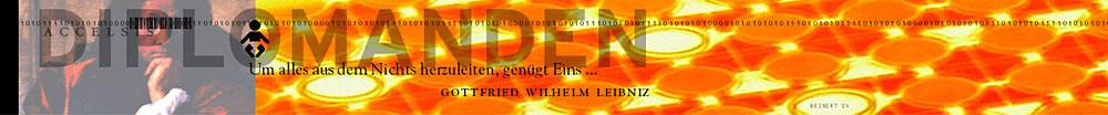 Accelsis Technologies, Computergrafik »Gottfried Wilhelm Leibniz« für Intra- und Internet.
