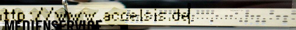 Accelsis Technologies, Computergrafik »Medienservice« für Intra- und Internet.