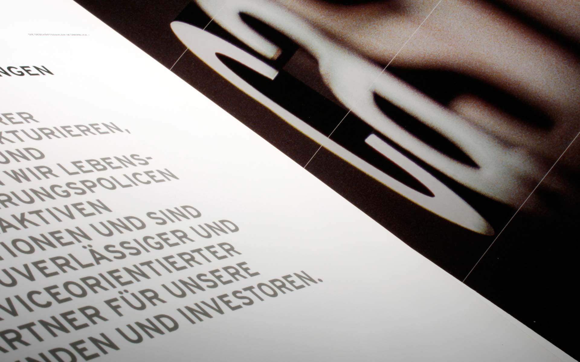 cash.life, Vorsatz des Geschäftsberichts 2007 in deutscher Sprache.