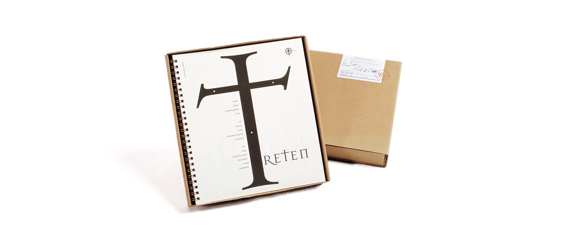 Editorial Design und Typografie für das Designmagazin Ausdruck.