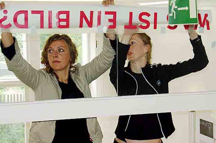 Hochschule München, Designcenter München, Projektzentrum für Design und Fotografie, Installation »Was ist ein Bild?«, 2005–2006.