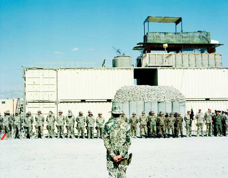 peperoni books, Krieg in Afghanistan, Fotografie (1) aus »Landscapes & Memory« von Jo Röttger.