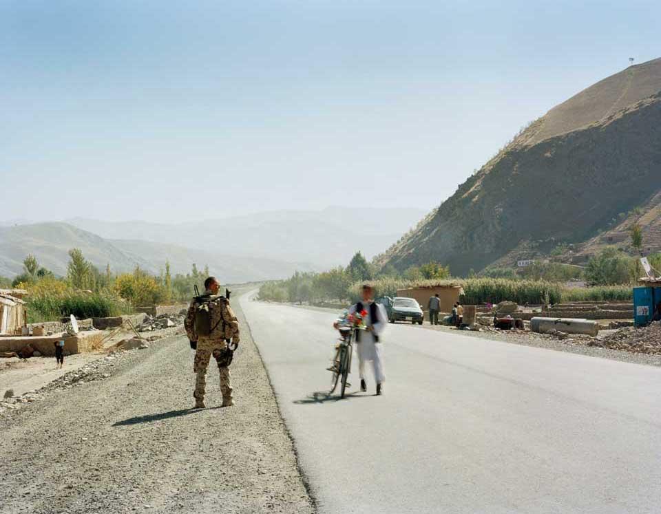 peperoni books, Krieg in Afghanistan, Fotografie (2) aus »Landscapes & Memory« von Jo Röttger.