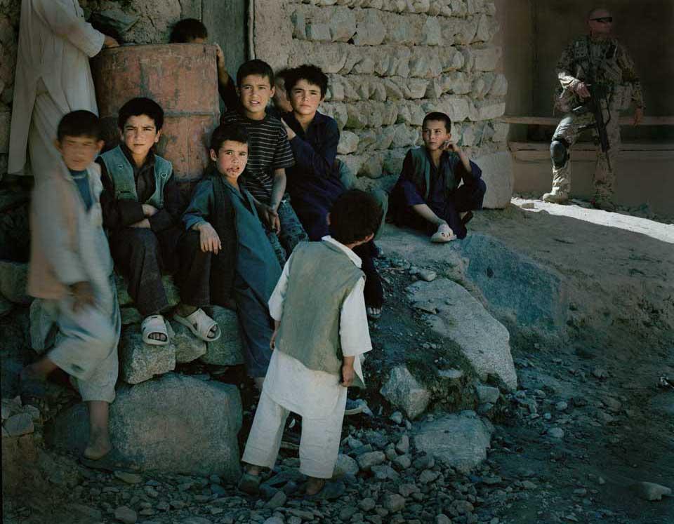 peperoni books, Krieg in Afghanistan, Fotografie (3) aus »Landscapes & Memory« von Jo Röttger.