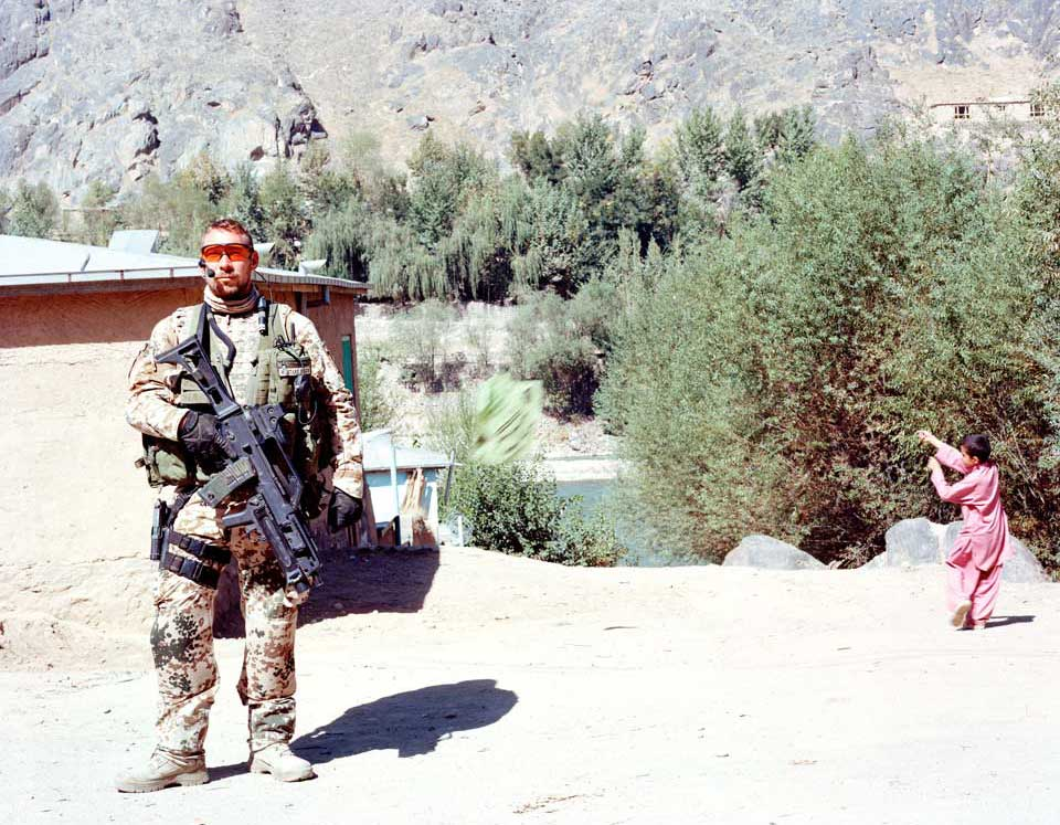 peperoni books, Krieg in Afghanistan, Fotografie (4) aus »Landscapes & Memory« von Jo Röttger.