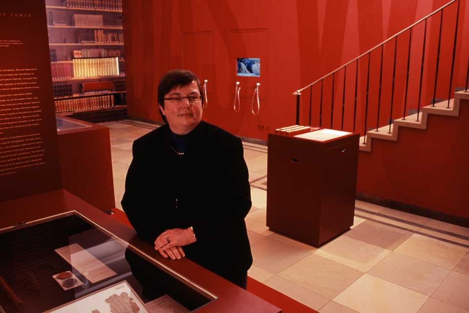 Museumsstiftung Post und Telekommunikation, Fotoportraits von Mitarbeitern der Museen für Kommunikation in Berlin, Frankfurt und Nürnberg sowie der Museumsdepots in Berlin und Heusenstamm. Bild 05.