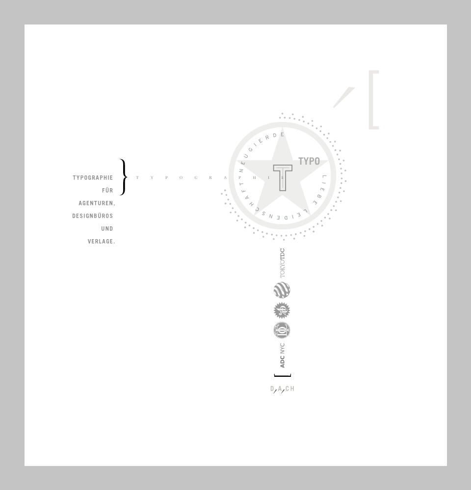 Typoakademie, Typografik Nr. 3.