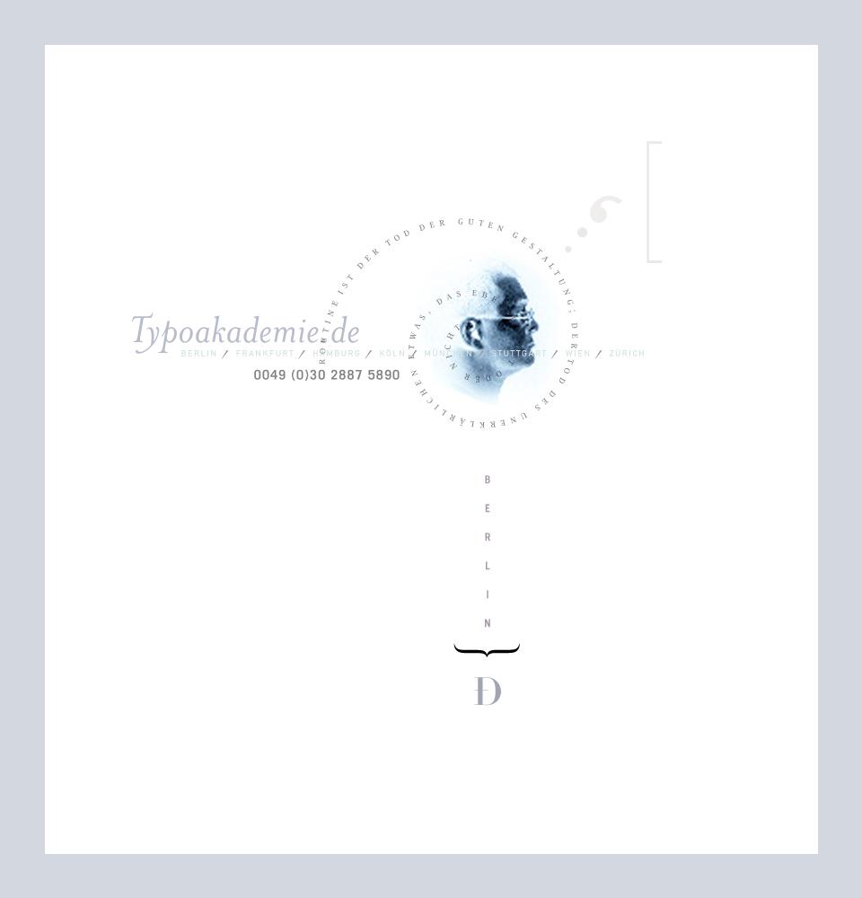 Typoakademie, Typografik Nr. 4.