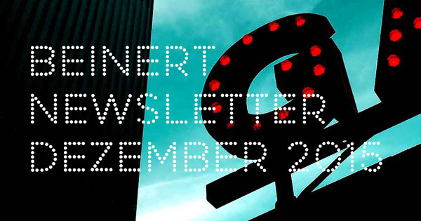 Wolfgang Beinert | Newsletter : Dezember 2015