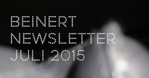 Wolfgang Beinert | Newsletter, Juli 2015