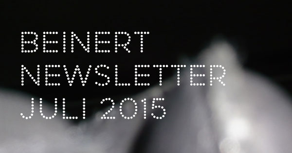 Wolfgang Beinert | Newsletter, Juli 2015