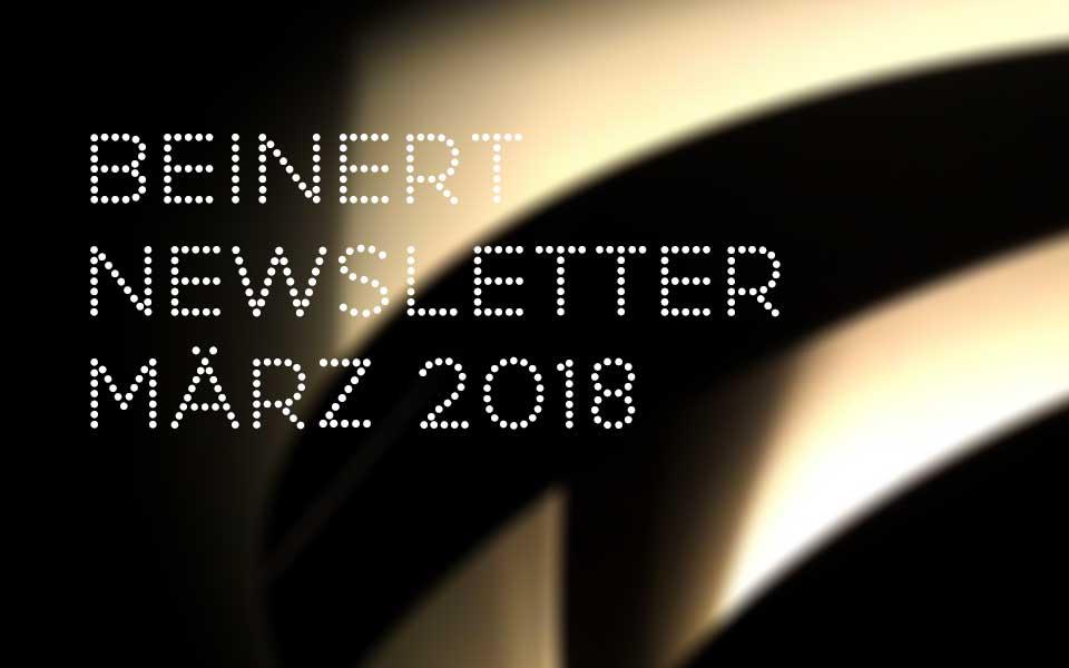 Wolfgang Beinert | Newsletter : März 2018