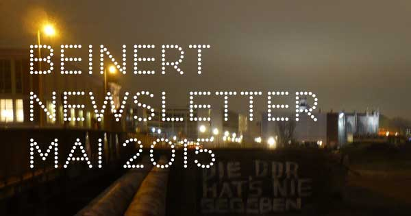 Wolfgang Beinert | Newsletter, Mai 2015