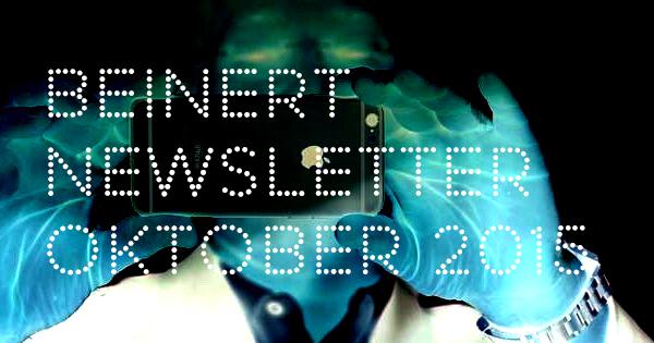 Wolfgang Beinert | Newsletter : Oktober 2015