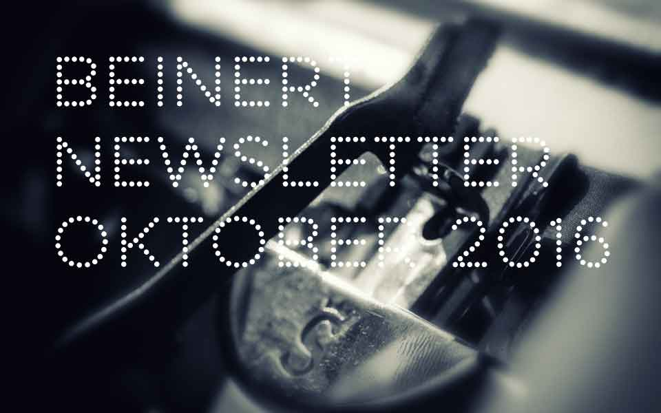 Beinert | Newsletter Oktober 2016